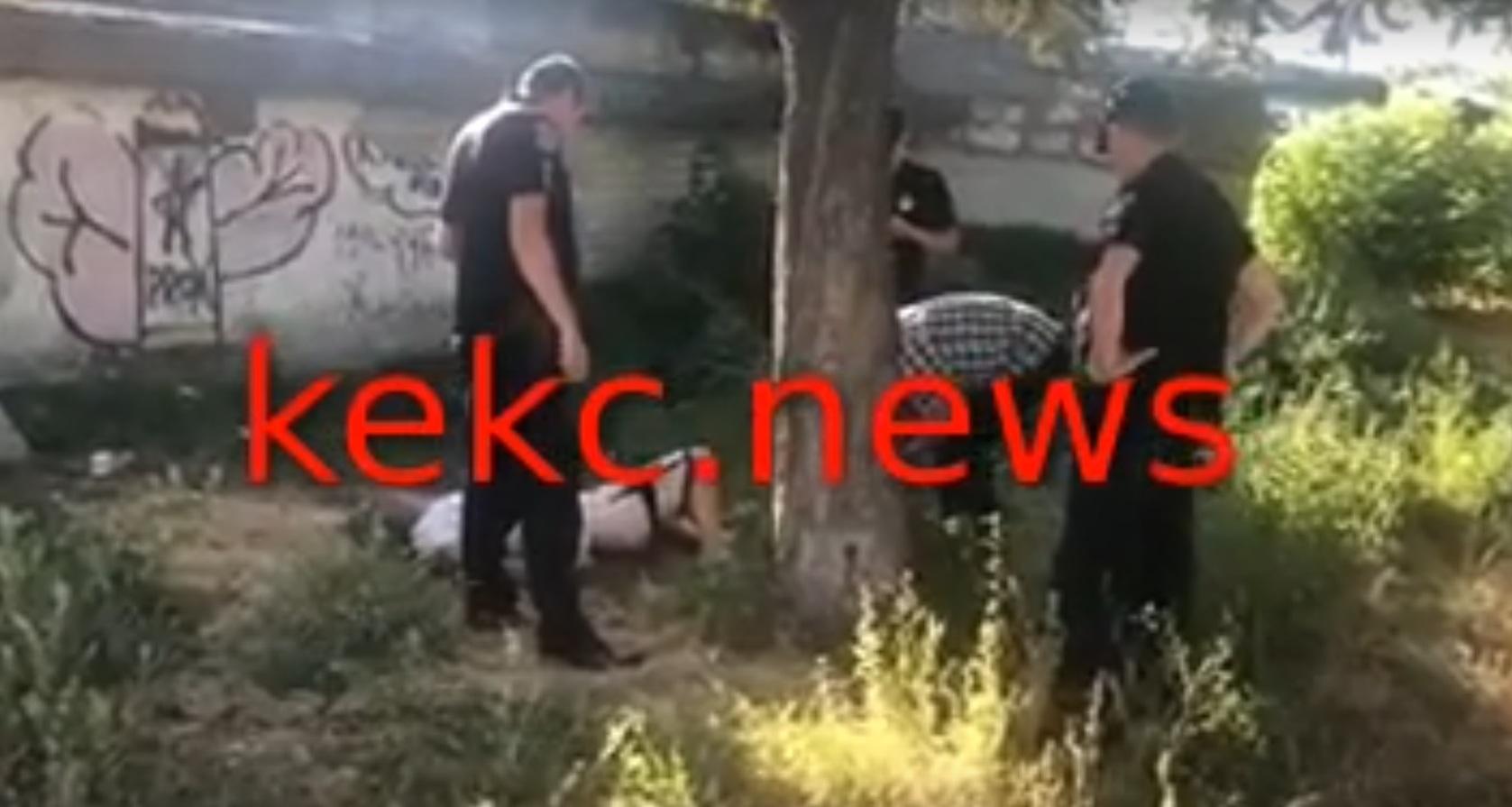 В центре Подольска нашли труп (ВИДЕО)