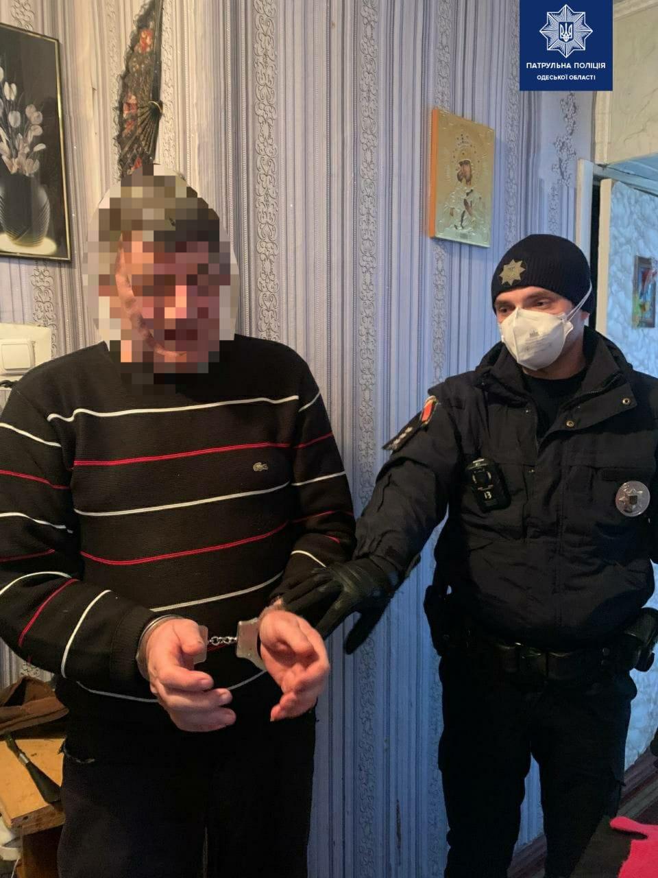 полицейский с задержанным