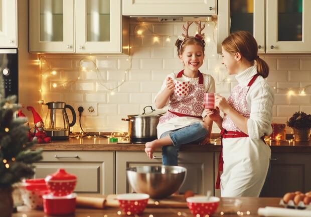 рождество на кухне
