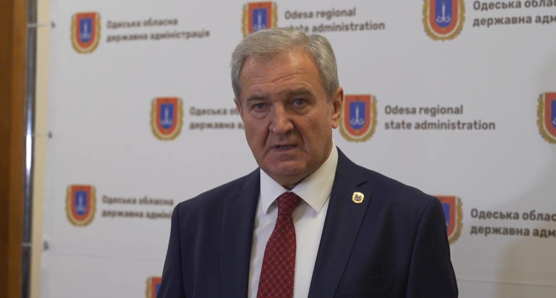 Новый губернатор Одесской области Сергей Гриневецкий