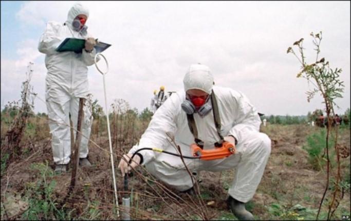 химическое загрязнение почвы