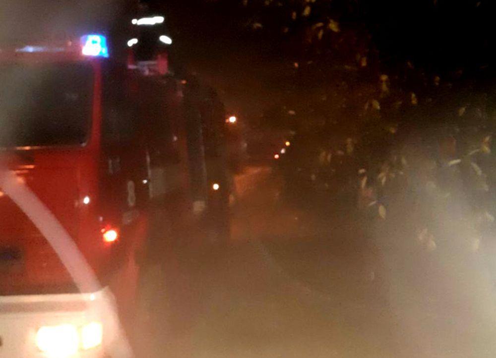 пожар в Одессе на ул. Самарской