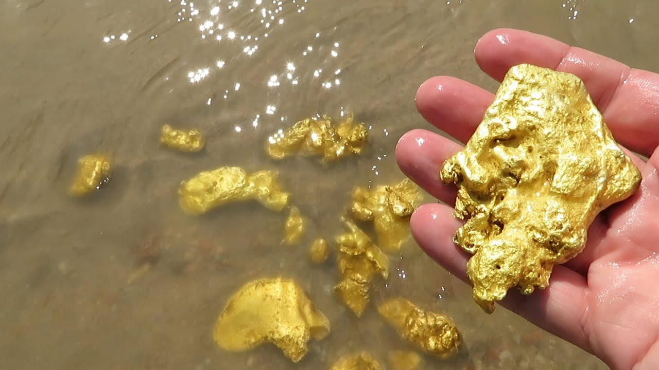 золотодобыча, самородок