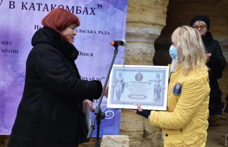 Галерея в Нерубайских катакомбах признана самой длинной в Европе