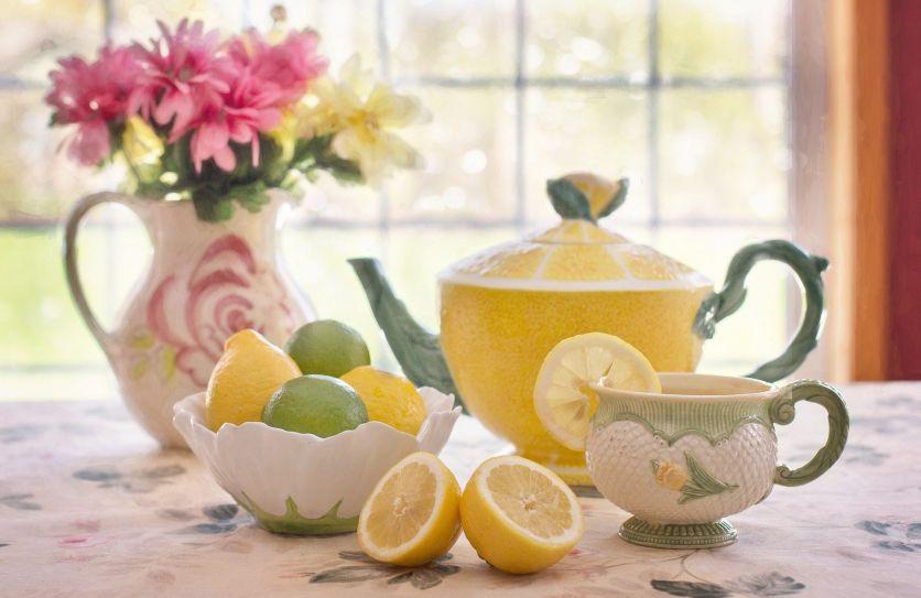 лимон к чаю