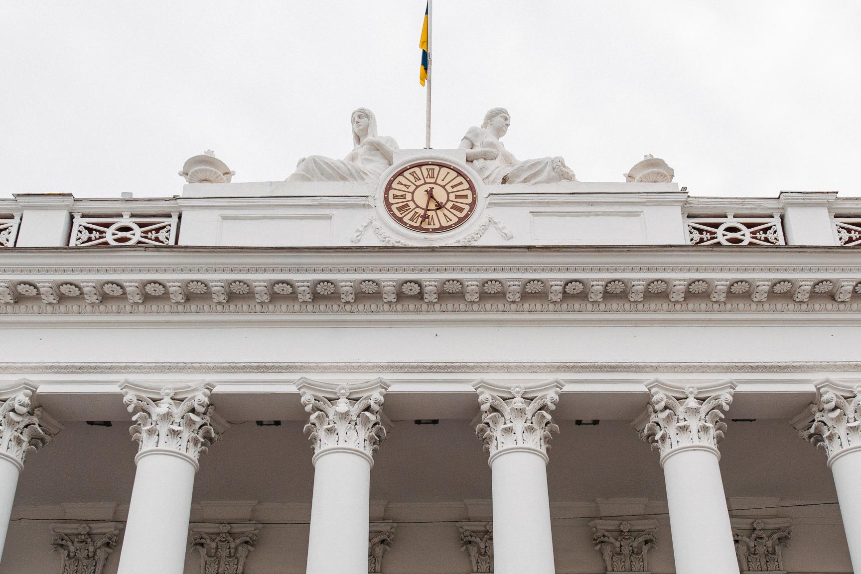 главные часы Одессы