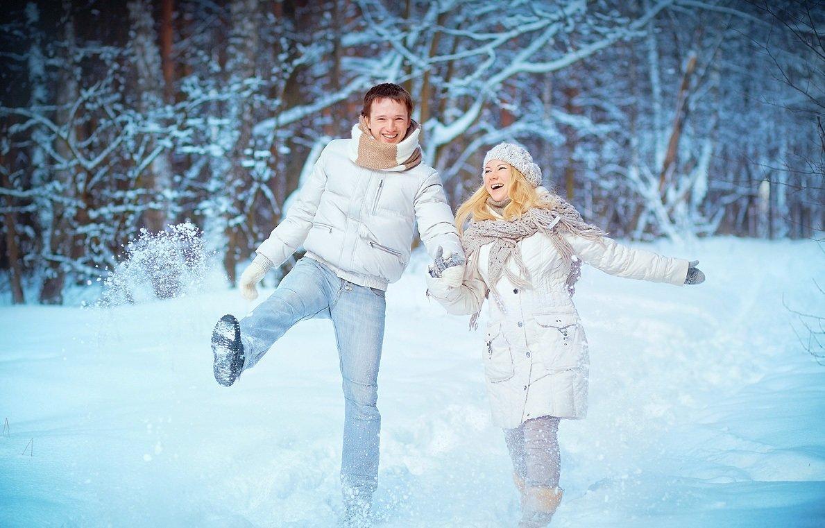 прогулки в морозные дни