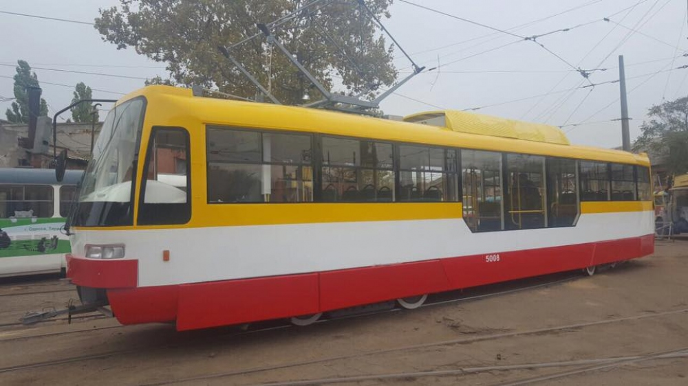 низкополый трамвай