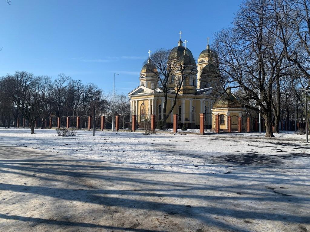 Продолжается капремонт Алексеевского сквера в Одессе
