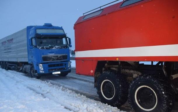 Снегопады в Николаевской области