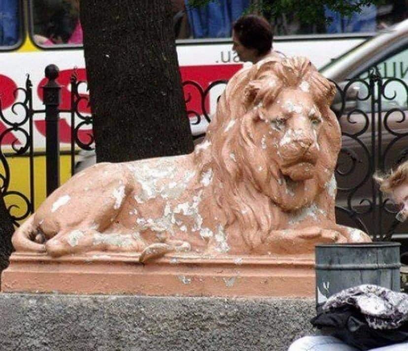 привокзальные львы
