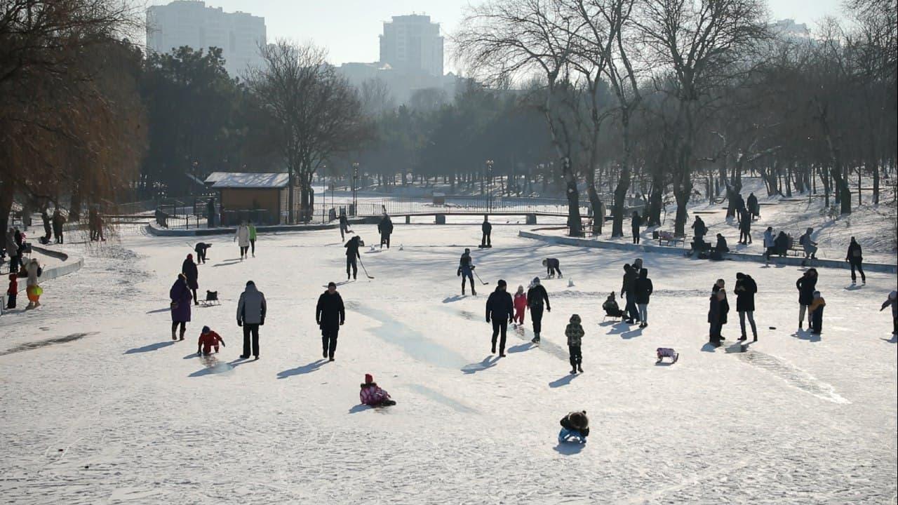 лед парк победы