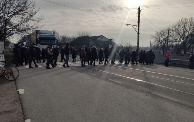 протест против тарифа на газ
