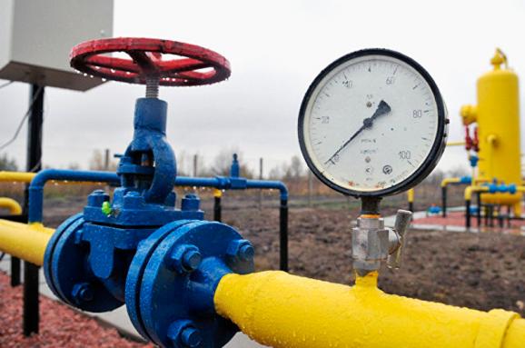 распределение газа