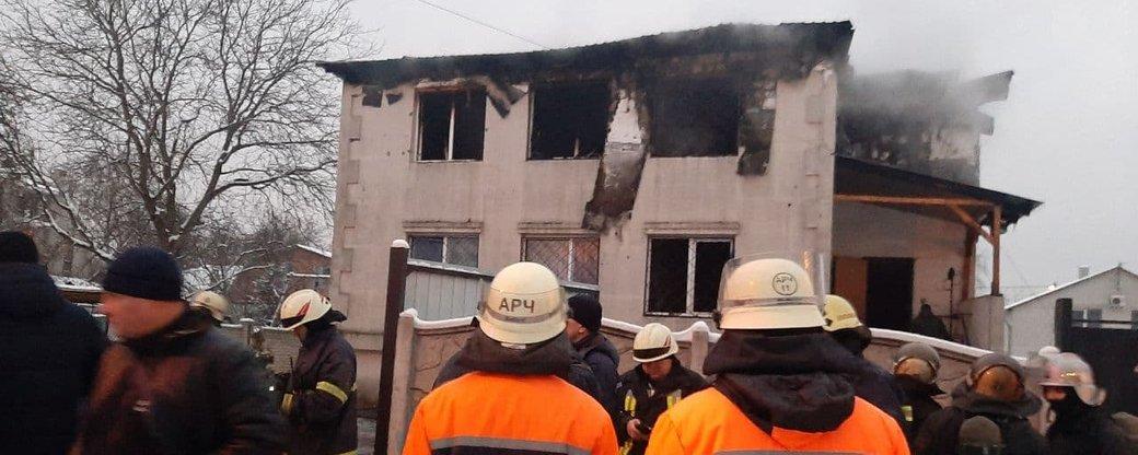 сгоревший дом престарелых