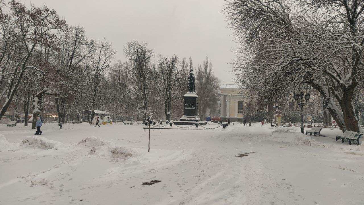Снег на Соборке