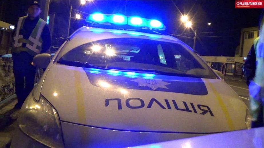 полиция ночь