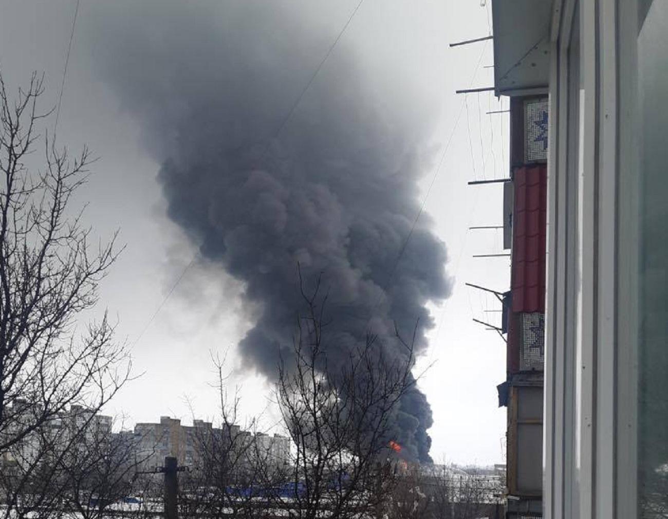 пожар в Эпицентре