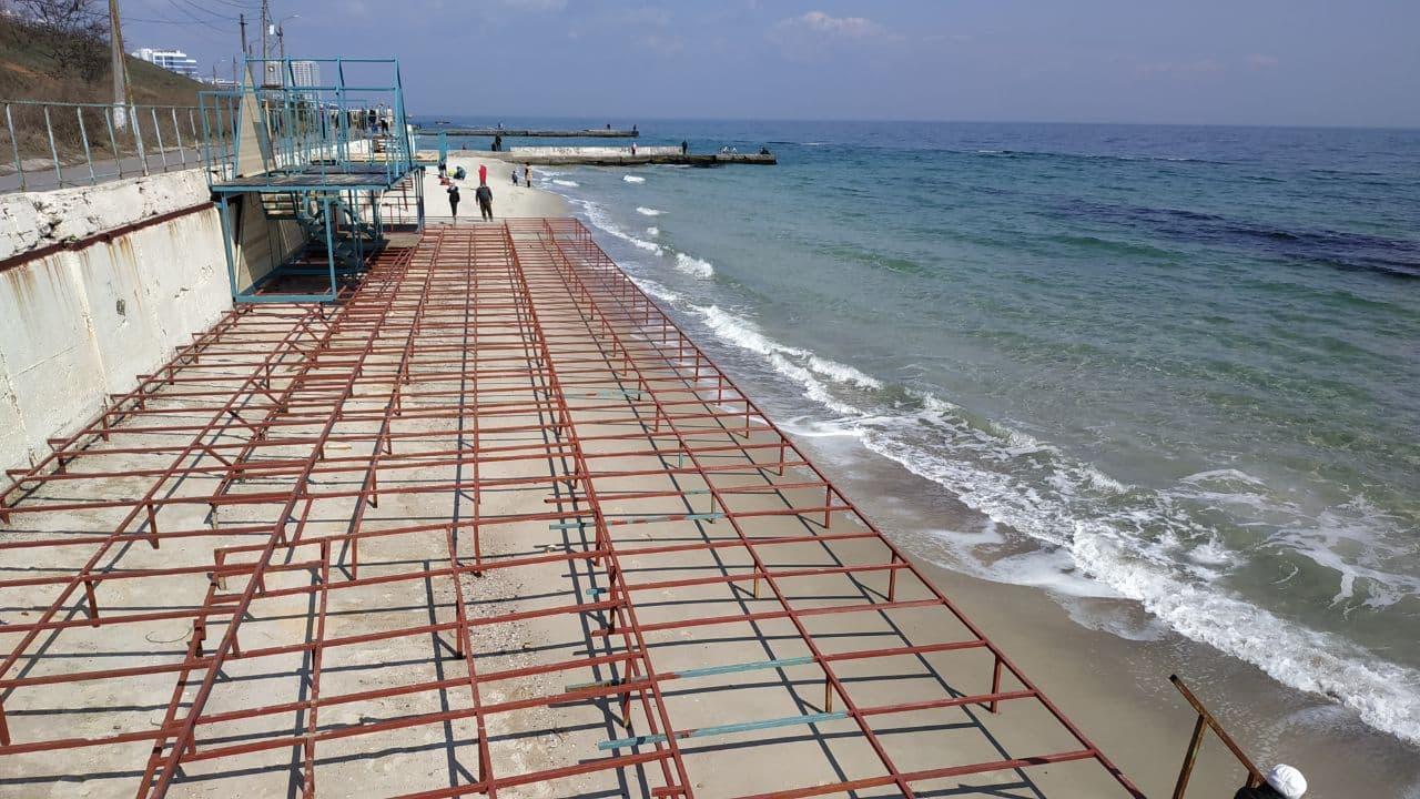 пляж решетка1