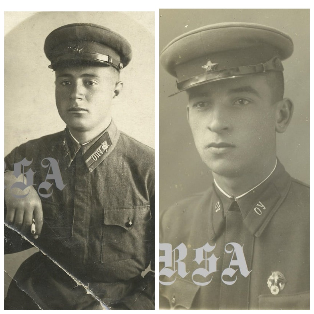 курсанты пехотного училища