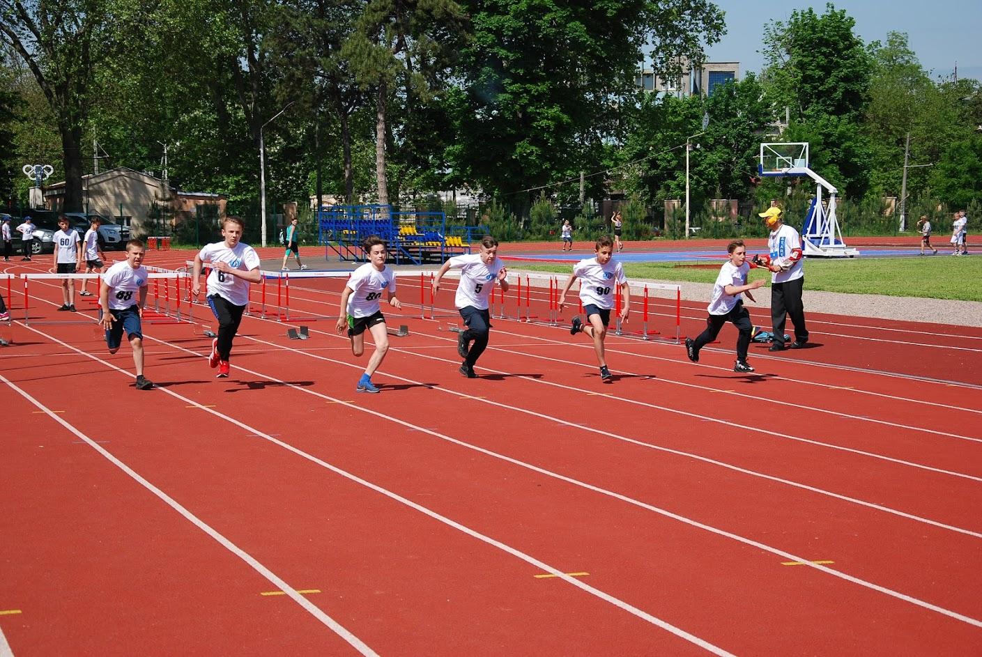 дети бегут