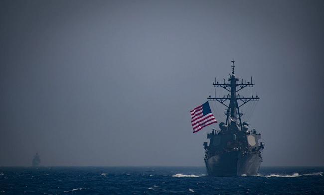 американский корабль