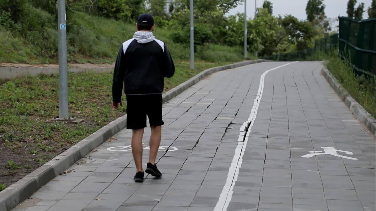 эстакада пешеход