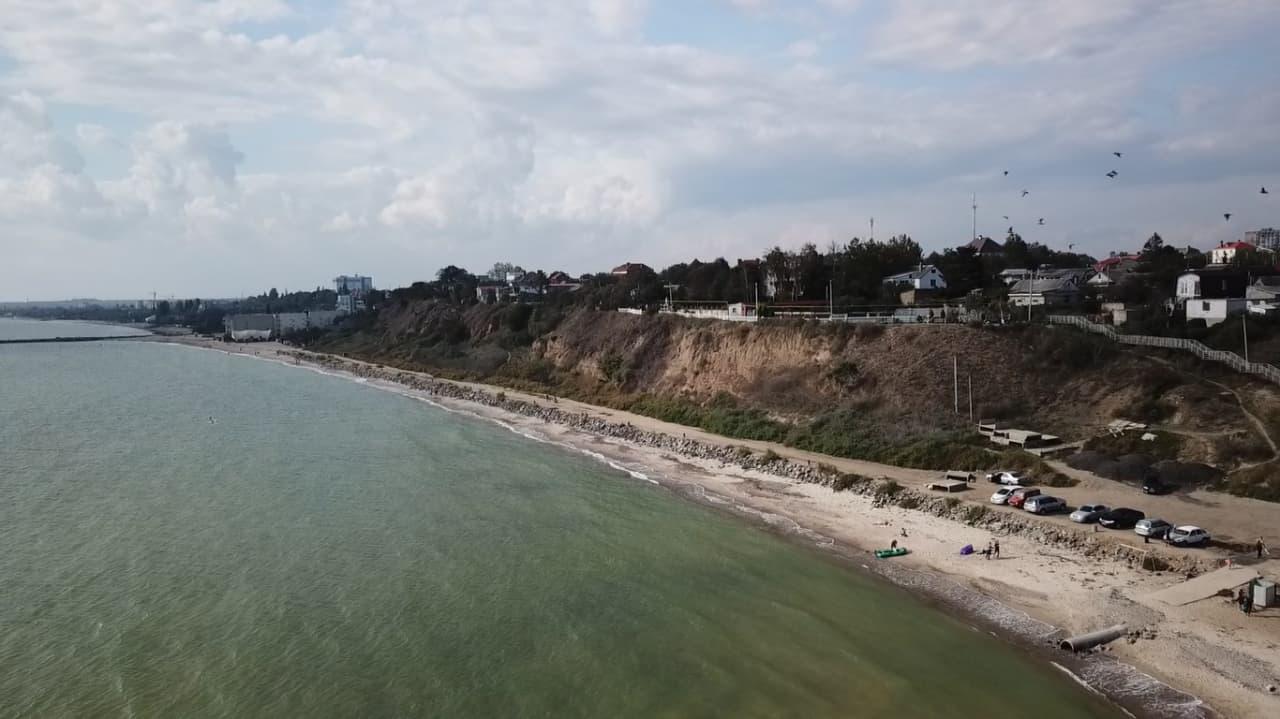 море берег