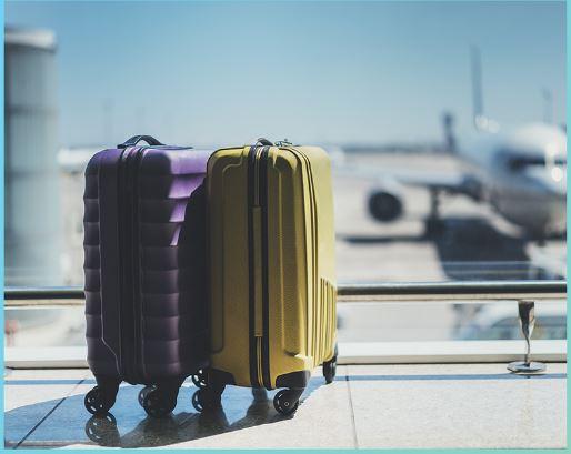 чемоданы самолет