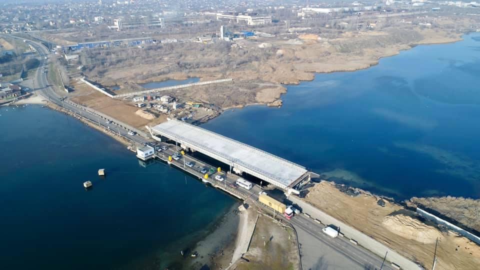 мост на Черноморск